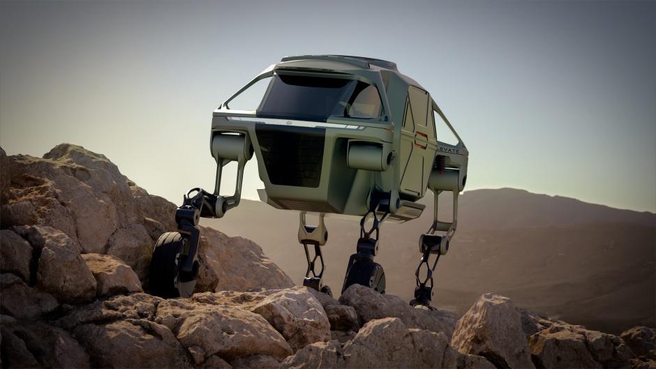 walking concept car