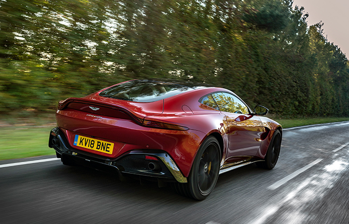 The Engineer Car Review Aston Martin Vantage The Engineer