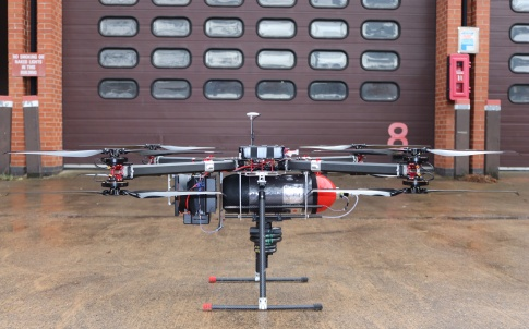 Hydrogen powered drone