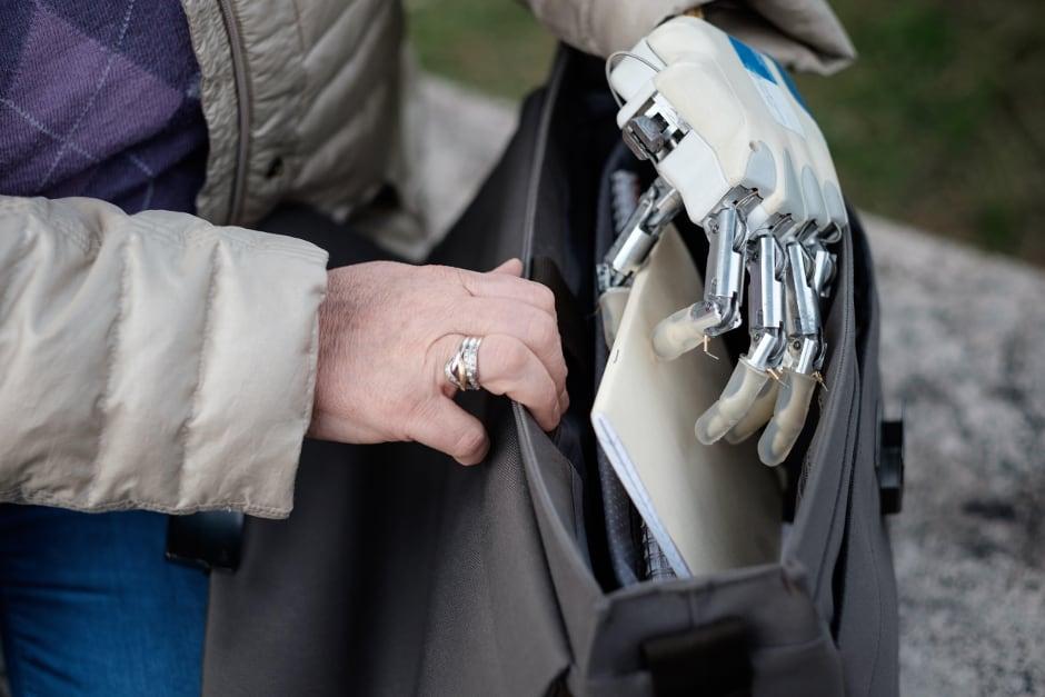 Next-generation bionic hand