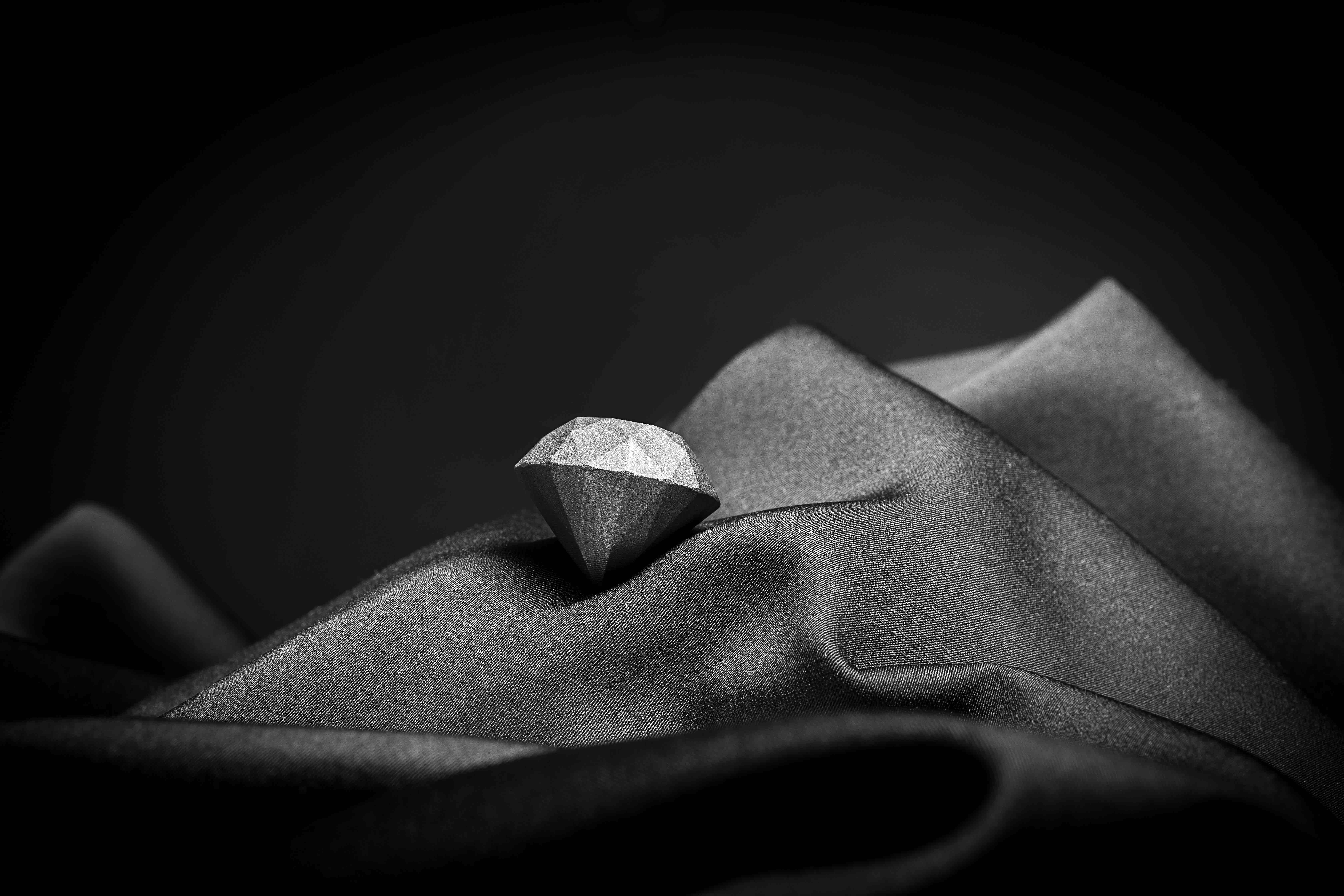 3D printed industrial diamond