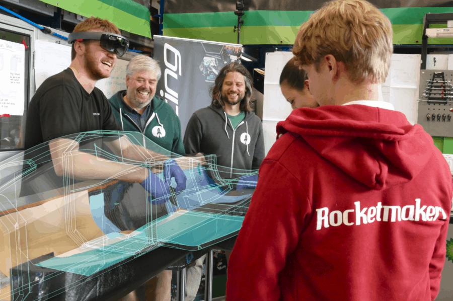 AR tool helps Bath Racing with Formula Student build